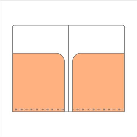 チケットケース W2(ミニWポケット)